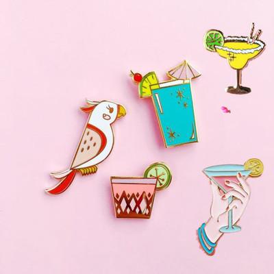 Achetez en gros perroquet boutons en ligne des for Cocktail perroquet