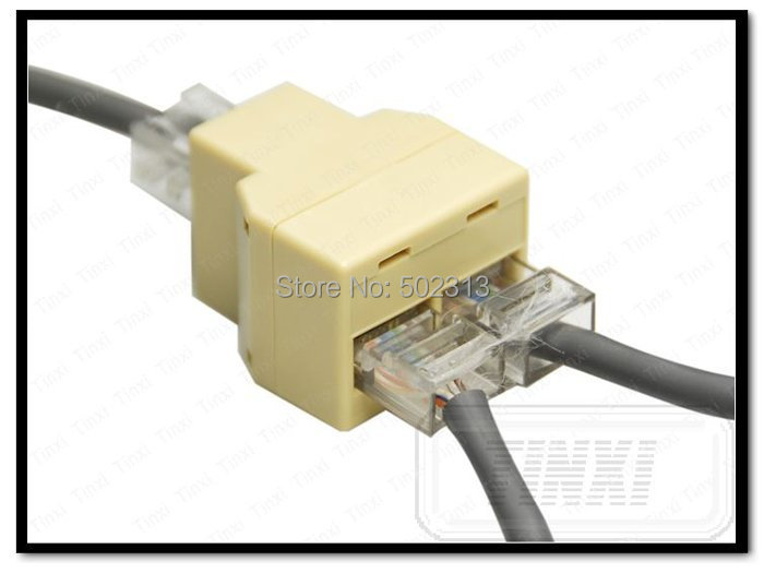 Ethernet RJ45 3 Way Network Cable Y (end 6/21/2017 9:15 PM)