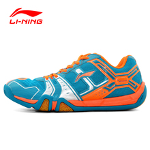 LI-NING Men Badminton Shoes Training Breathable Hard-Wearing Anti-Slippery Light Sneakers Sport Shoes LINING AYTJ073 XYY013(China (Mainland))