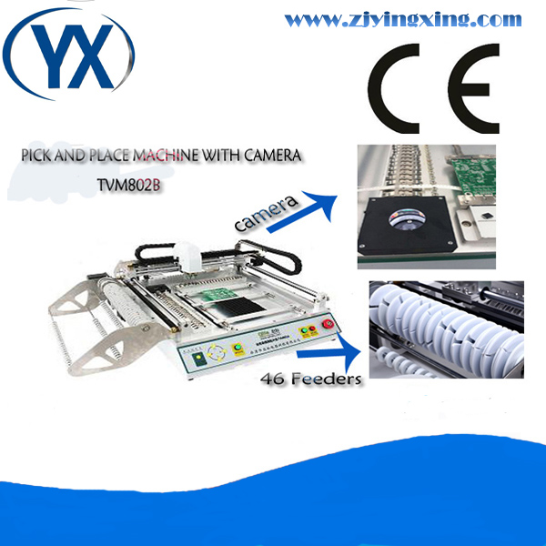 Full Automatic And Cheap Wholesale Used SMT Machine TVM802B With Mark Ponit+Vision System(China (Mainland))