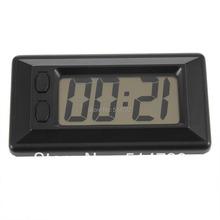 2pcs Mini Gift Date Calendar Time Display Digital Wall Desk Clock LCD display Hot Selling(China (Mainland))