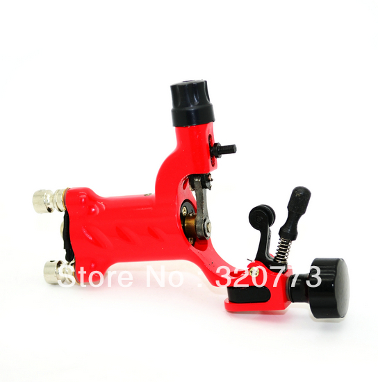 Professional Dragonfly Rotary Tattoo Machine Shader and Liner with RCA Red supply(China (Mainland))