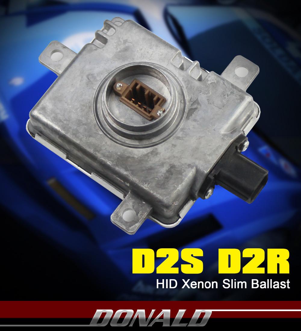 35W D2S D2R Xenon HID Replacement Silm Ballast Headlight Control Inverter Unit ECU Box(China (Mainland))