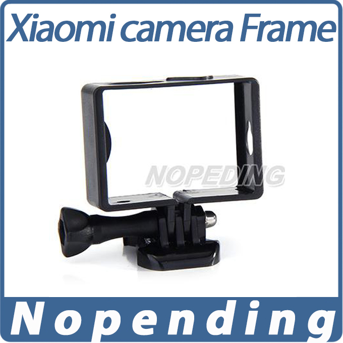 Xiaomi xiaoyi Camera Portable Plastic Frame Mount Stand-alone Version For Xiaomi Yi Sports Camera - Black<br><br>Aliexpress