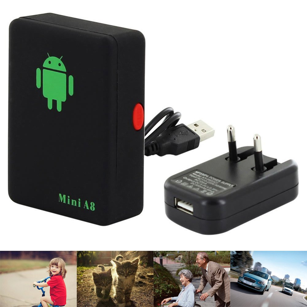 Mini A8 Car GSM Tracker Global Real Time 4 Bands GSM/GPRS Security Auto Tracking Device Support Android For Children Pet Vehicle(China (Mainland))