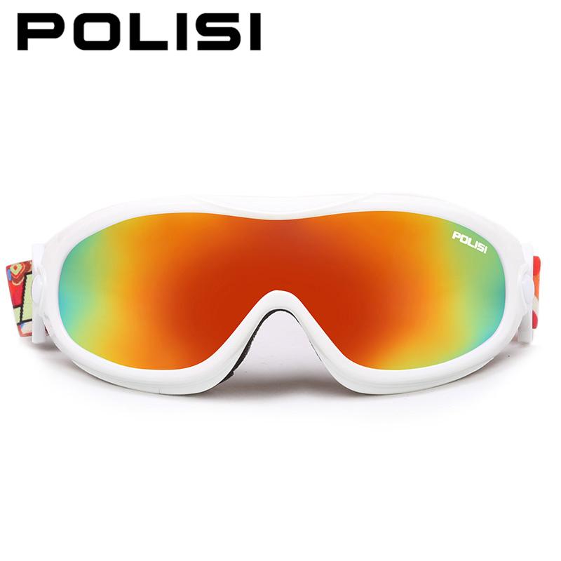 POLISI Professional Children Kids Snowboard Goggles Skiing Glasses Snow Gafas Motocross Off Road Glasses Winter Sports Eyewear(China (Mainland))