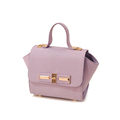 Trendy Trapezoidal Bag Women Litchi Stria Leather Flap Handbag Ladies Designer Luxury MINI Shoulder Crossbody Bag