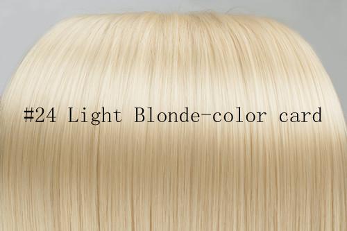 Hot sales MAC Make up 7pcs lot 24 inch ideal synthetic hair extension clip in kanekalon hair #24 All express and free shipping(China (Mainland))