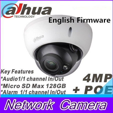 Фотография Dahua 4Mp IPC-HDBW4421R-AS IP camera network camera DH-IPC-HDBW4421R-AS Support POE / Micro SD storage/Audio 1/1 channel In/Out