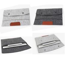Ultra Slim protector sleeve for apple ipad mini 1 2 3 wool felt cover case for apple ipad