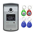 Intercom System Color Video Door Phone Outdoor DoorBell IR Camera With CMOS Night Vision Can Reader