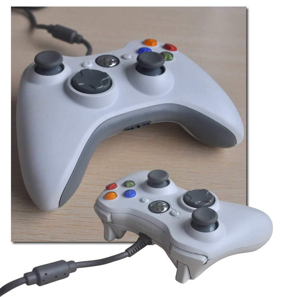 image for 100% Brand New Wired USB Game Controller Joypad For Xbox 360 PC Gamepa