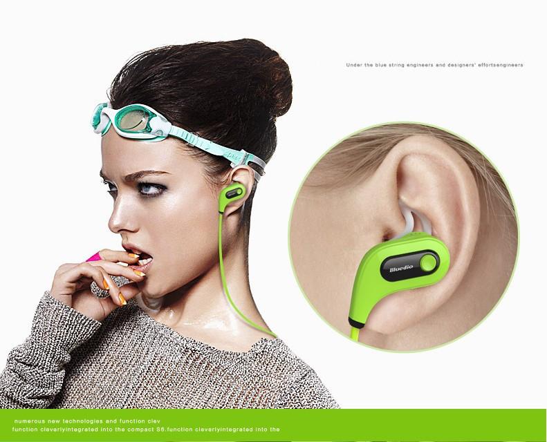 Bluetooth Wireless Headset Stereo Headphone Earphone Sport Universal Bluedio S6 Bluetooth 4 Stereo Headset with Microphone EJS6
