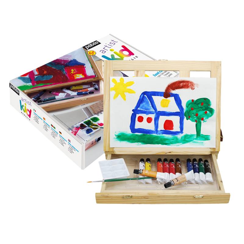 Professional Drawing Set Childrens Painting Brush Painting Set Non-toxic Drawing Set Fine Art Painting for DIY Artist Gift<br><br>Aliexpress