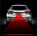 2016 Newest Anti Collision Rear end Car Laser Tail Fog Light Auto Brake Parking Lamp Rearing
