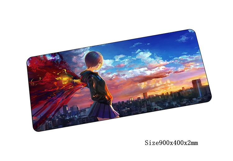 Tokyo Ghoul mouse pad locked edge pad to mouse notbook computer mousepad cool gaming padmouse gamer to laptop keyboard mouse mat(China (Mainland))