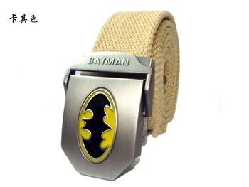 Quality Mens Canvas Military Belt Batman thicken Army tactical belts Male strap Men