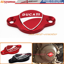 Free Shipping Motorcycle Accessories Alternator Cap Cover For DUCATI MONSTER 696 796 821 659 1100/S 1200/S Red