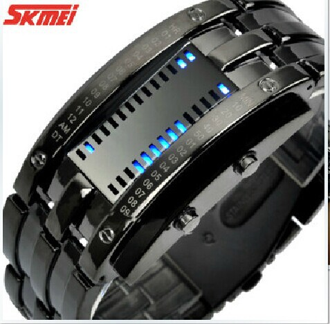 Waterproof LED creative fashion lovers female electronic watch(China (Mainland))