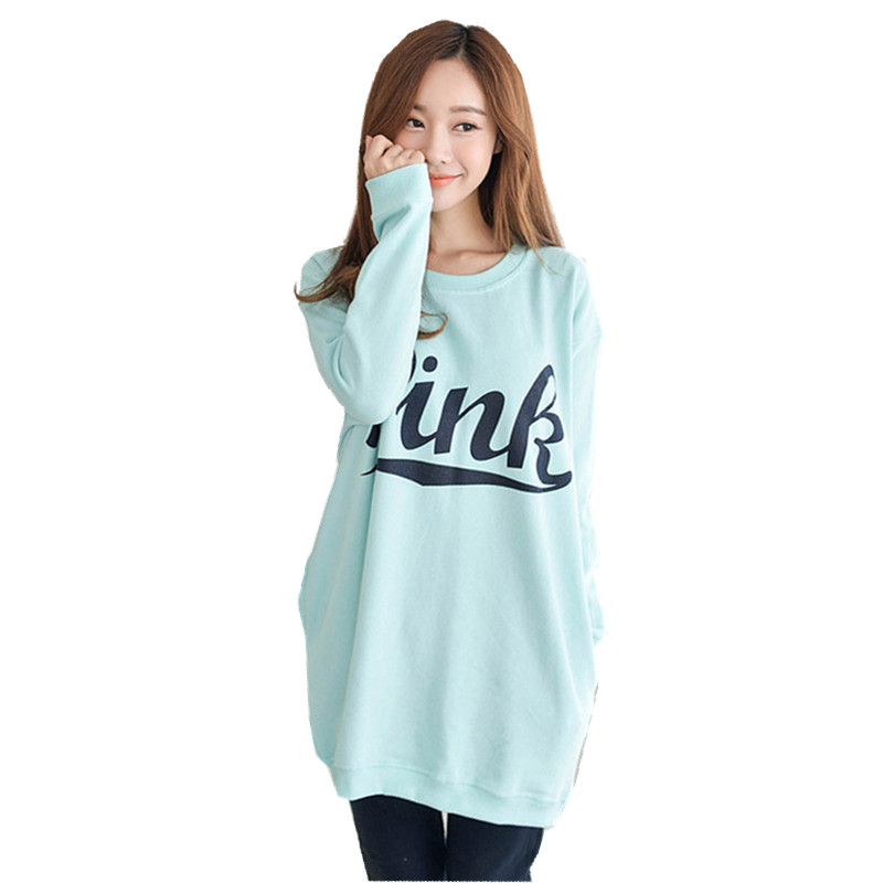 2016 new young women fashion long-sleeved cotton pajamas cute tracksuit Pyjamas sets M L XL XXL