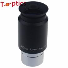 """1.25 """" 32 mm Plossl telescopio ocular con filtros de rosca y tapas de calidad superior telescopio"""