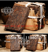 Made in1980 ripe pu er tea,250g oldest puer tea,ansestor antique,honey sweet,,dull-red Puerh tea,ancient tree freeshipping