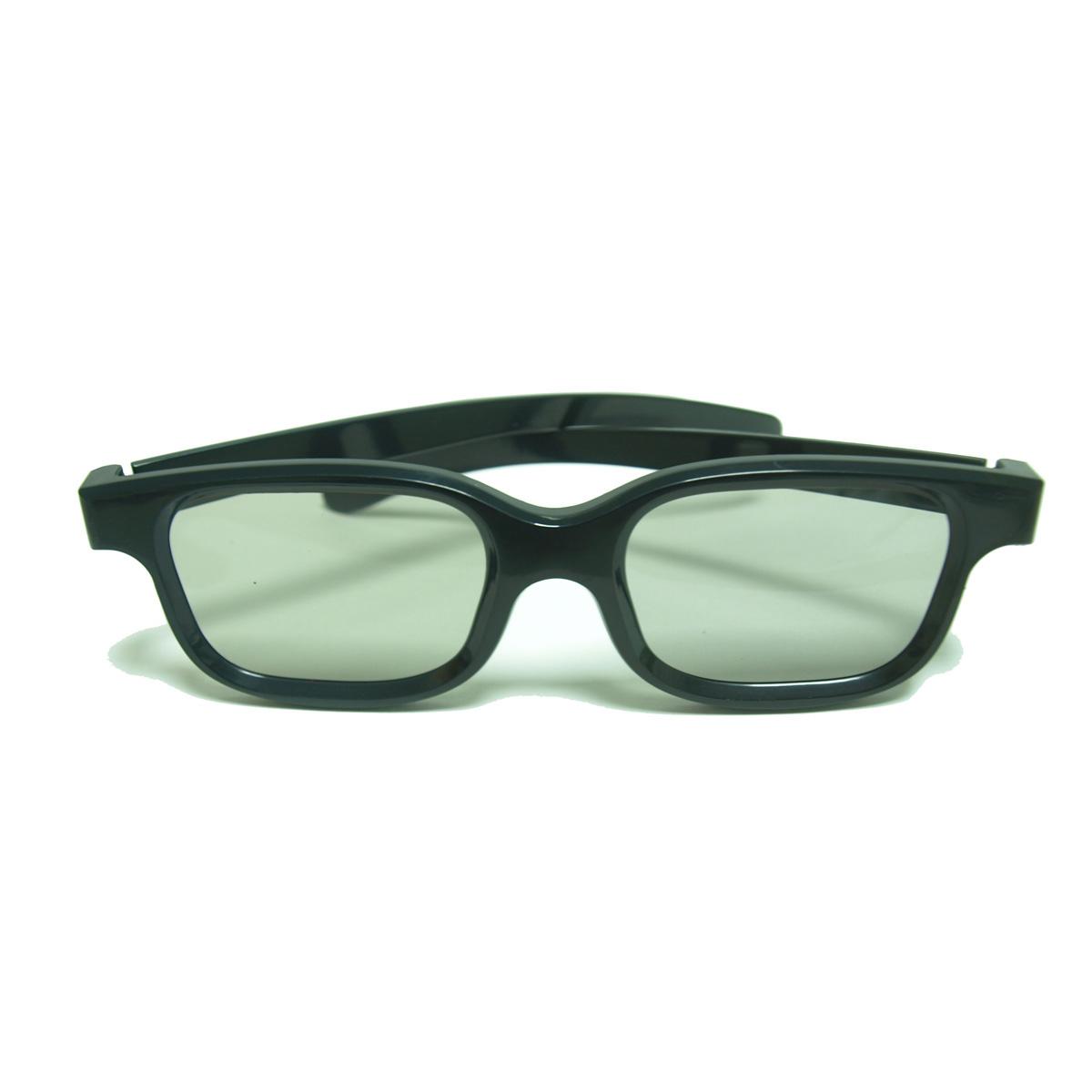 Free shipping 1pcs 3D Linear polarized glasses 45/135 Degrees Linear Polarized 3D Glasses(China (Mainland))