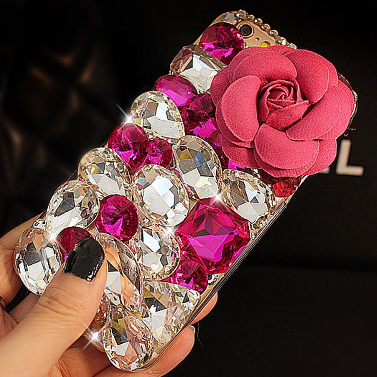 3D fashion crystal For Apple iphone 6 plus 5s 5 5c 4s 4 Hot Sale glitter diamonds rhinestones luxury mobile phone case cover(China (Mainland))