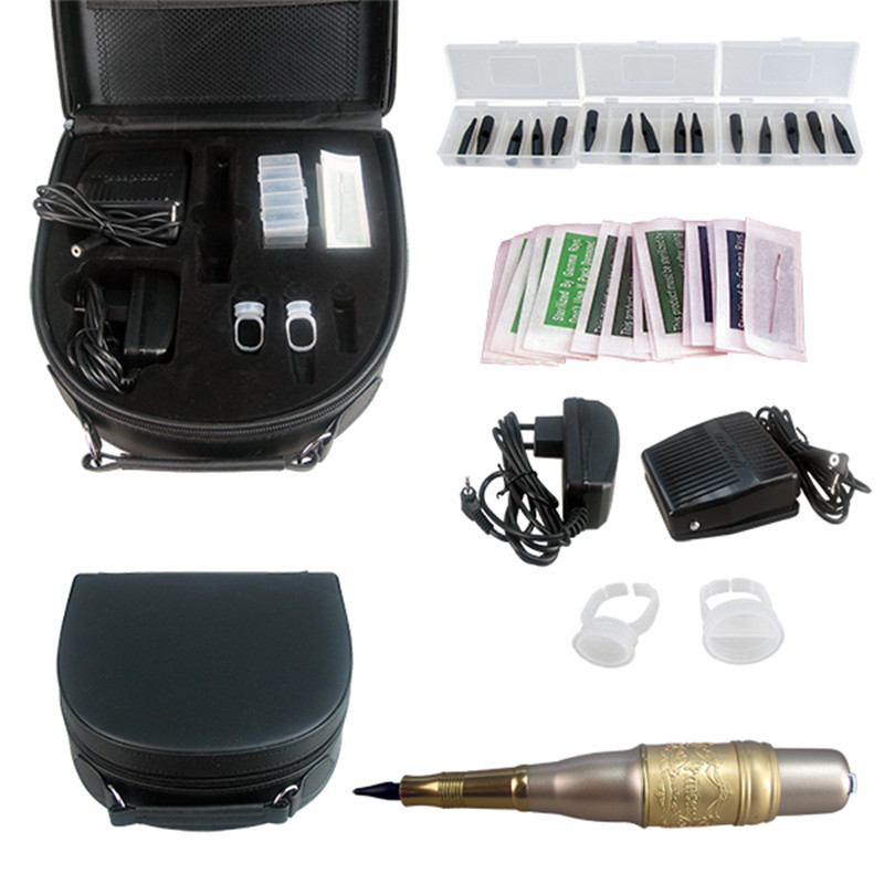 Solong Tattoo Permanent Makeup Kit Tattoo Pen Eyebrow Lip Machine Set EK702-4 Free Shipping<br><br>Aliexpress