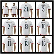 Top quality 4 star germany 2016 Jersey Klose Ozil Muller Gotze germany European Cup 2016 football jersey germany football jersey(China (Mainland))