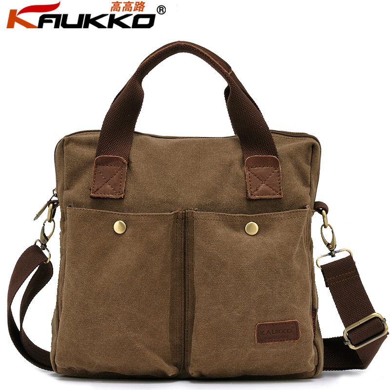 Casual Mens Travel Army Combat Canvas Handbags Messenger US Shoulder Satchel Sports Bags - Chic Choc Bag Store store