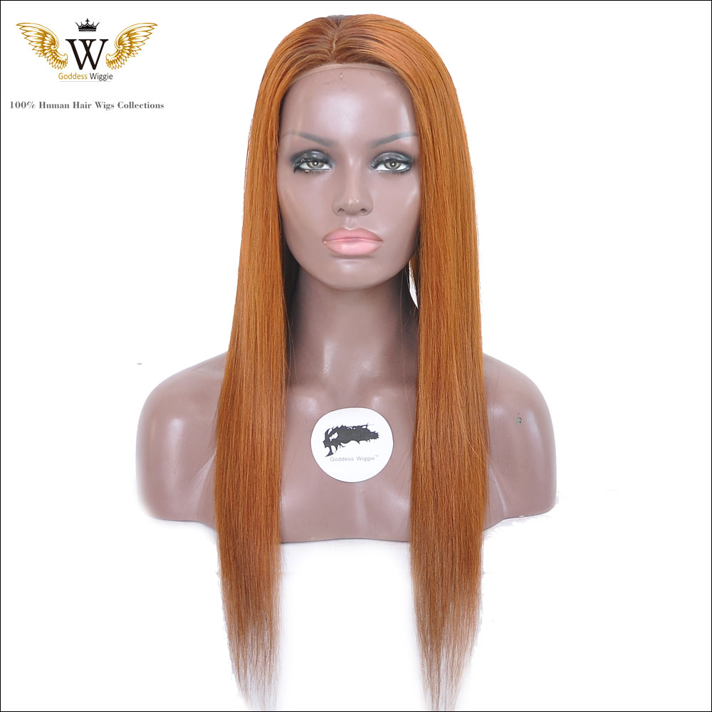 150 Density Ombre Brazilian Straight Human Hair Full Lace Wigs Virgin Lace Front Wigs Human Hair Silky Long Straight Lace Wigs<br><br>Aliexpress
