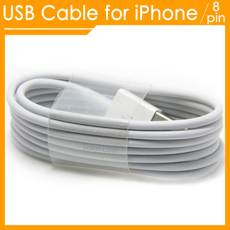 USB Cable Charging Cord Wire Lead Sync Data 1m 8 pin slimport cabo Charger Adapter chargeur kabel,for iPhone 6 plus 5s 5 5c iPad(China (Mainland))