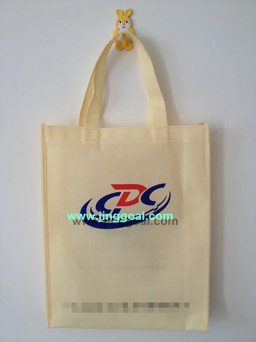 1000PCS/lot Non woven shopping bag with your LOGO free shipping by DHL/FEDEX/UPS/TNT(China (Mainland))