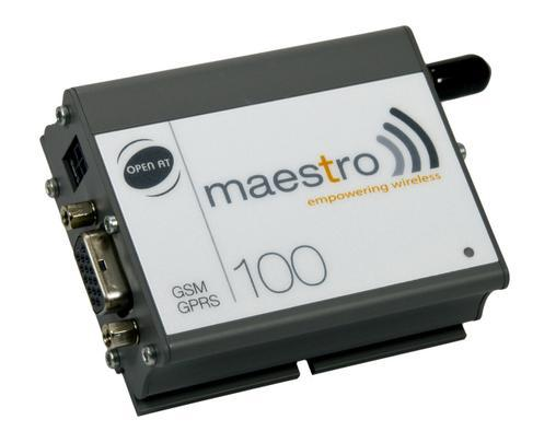 RS232 industrial gsm modem mastro 100(China (Mainland))