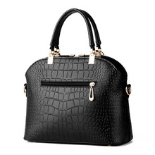 2016 New Arrival Famous Brand Fashion Women Leather Handbags Crocodile Pattern Female Ladies Bags Women s