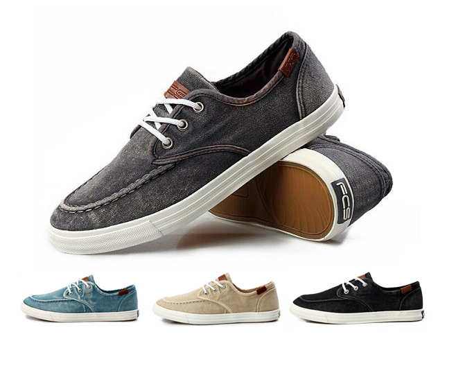 mens casual canvas shoes sneakers summer washed