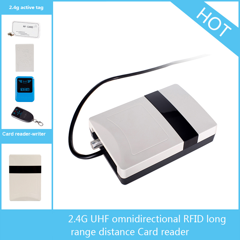 2.45GHz Omni-Directional Long Range Active RFID Reader for Company Attendance System(China (Mainland))