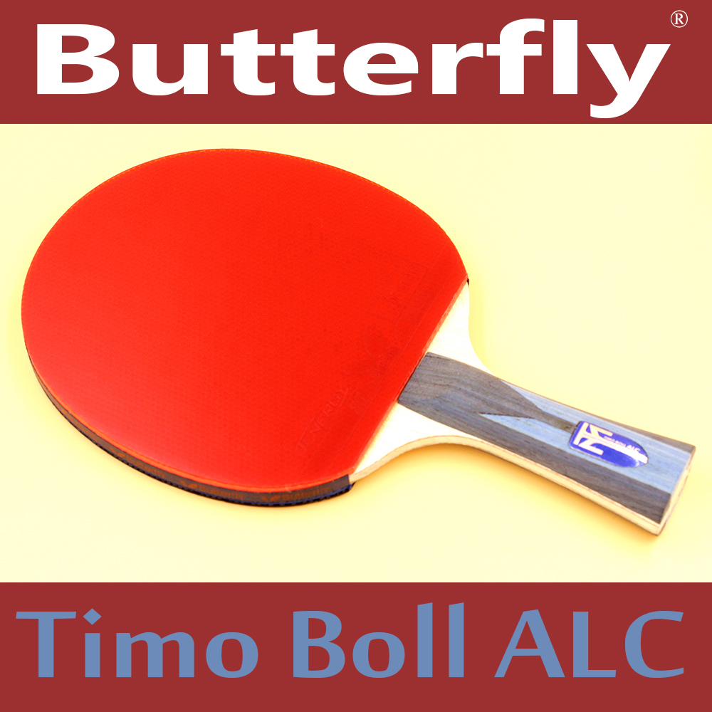 Butterfly Timo Boll Brand Quality Table tennis racket Ddouble face Pimples-in rubber Ping Pong Racket tenis de mesa(China (Mainland))