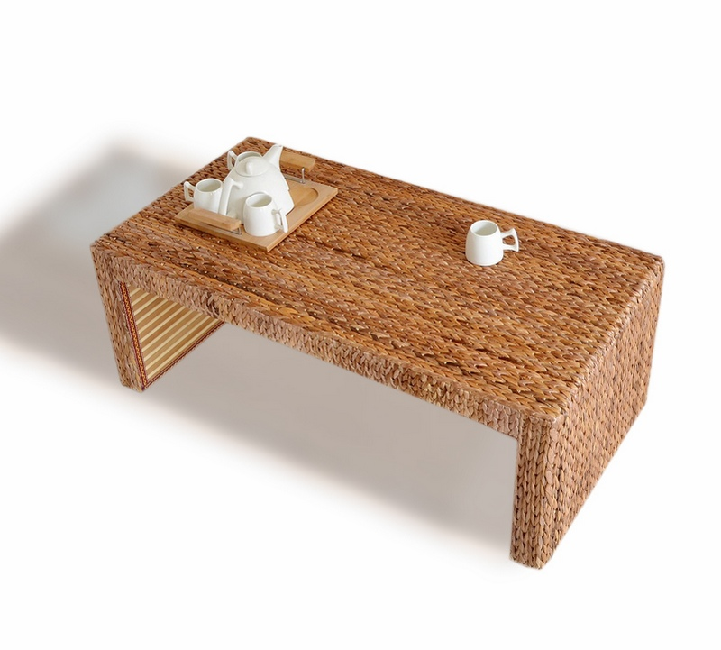 Rattan Tea Tables And Chairs Combination Of Solid Wood Coffee Table Simple Antique Sets Small