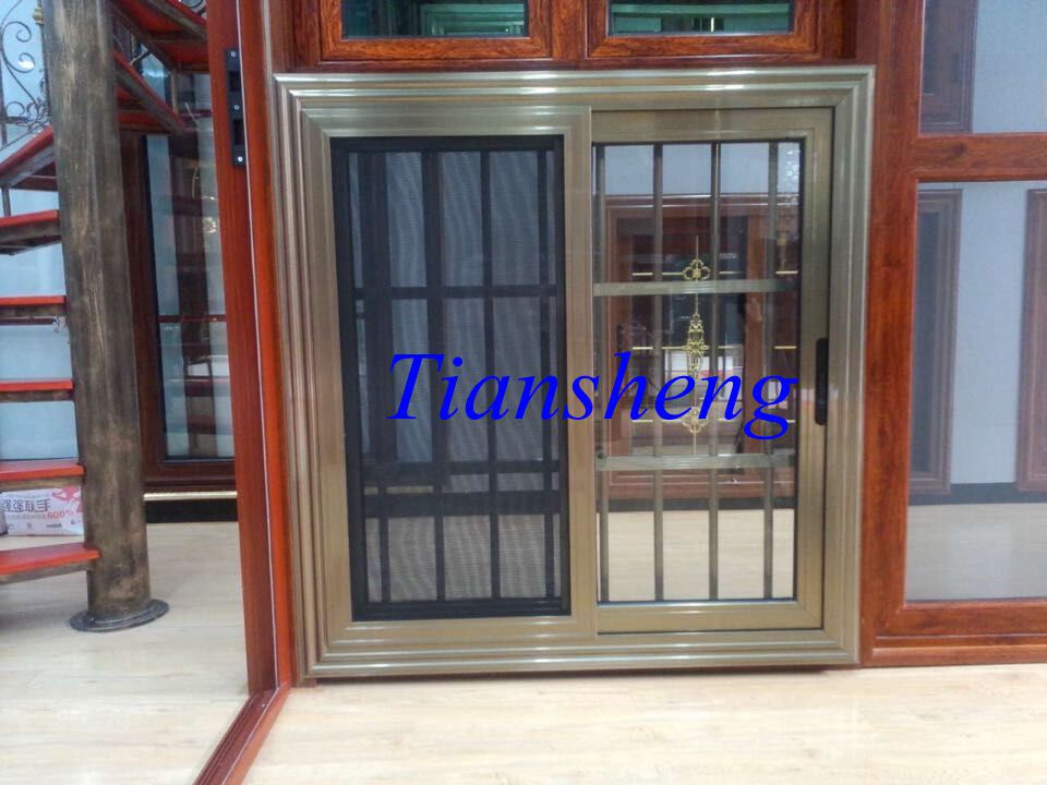 Commercial Aluminum Window Manufaturers, Custom Window for Customer Design(China (Mainland))