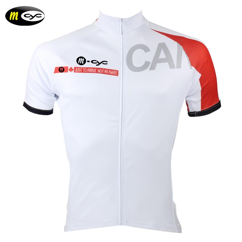 M-CYC Special offer 2015 cycling jersey bike wear clothing CANADA National flag pro team -M16049T(China (Mainland))