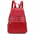backpack women fashion genuine leather woman backpacks stripe cow leather leather women backpack high quality HW8028