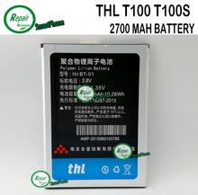100% первоначально THL аккумулятор Rechangeable 2700 мАч аккумулятор для THL T100S T11 сотовый телефон бесплатная доставка + отслеживая numbere