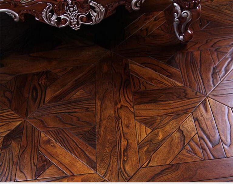 Real wood floor is 450 450 15 mm slippery elm wood for Hardwood floors slippery