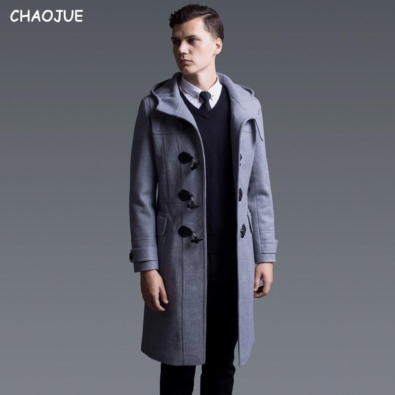 Pea Coat Men With Hood - Sm Coats