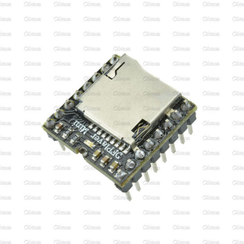 TF Card U Disk Mini MP3 Player Audio Voice Module For DFPlay Min Board(China (Mainland))