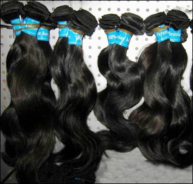 "RAW Westkiss Peruvian Virgin Human Hair Unprocessed 4pcs/lot 12""-30"" Body wave wefts Consistent Quality"