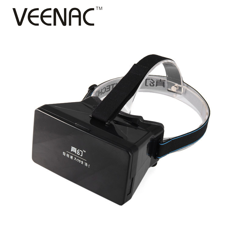 """Google Cardboard Virtual Reality VR 3D Mobile Phone 3D Glasses 3D Movies Games With Resin Lens For 3.5 to 5"""" Smartphone(China (Mainland))"""