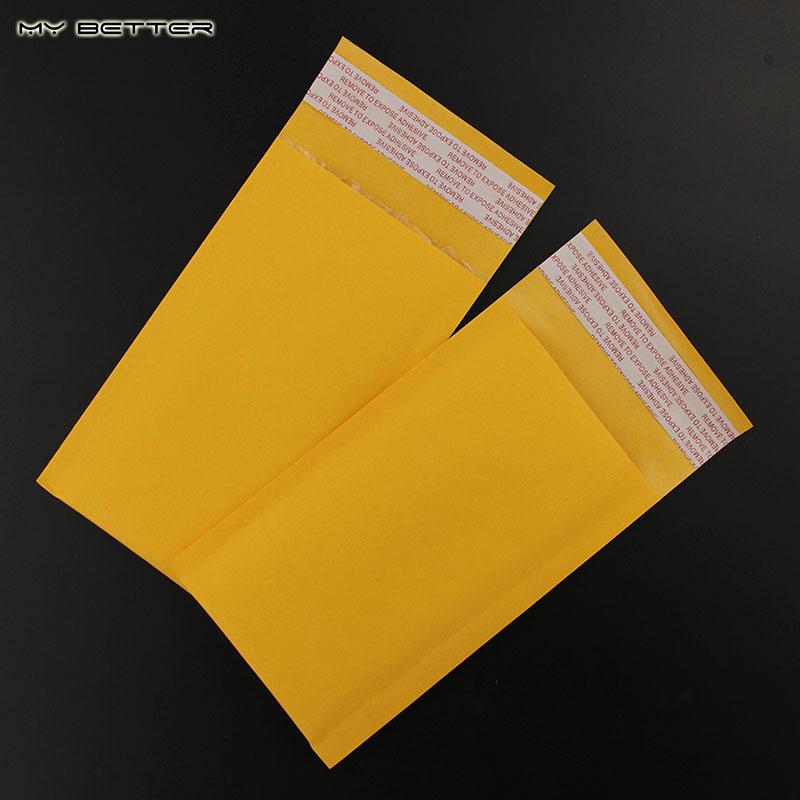 90X150mm Yellow Kraft Bubble Mailers Padded Bubble Envelopes Bags Envelope Mailing Bag 10pcs/lot(China (Mainland))